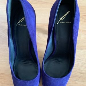 Brian Atwood Shoes - Brian Atwood suede pump!